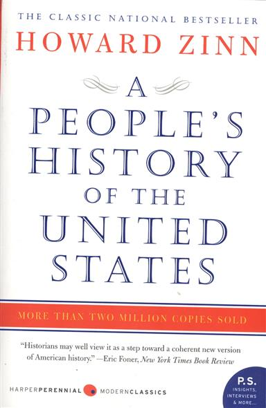 Zinn H. A People's History of the United States: 1492 to Present a history of western music 4e ise paper