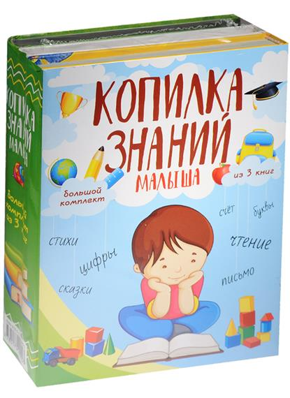Копилка знаний малыша. Большой комплект из 3 книг (комплект из 3-х книг)