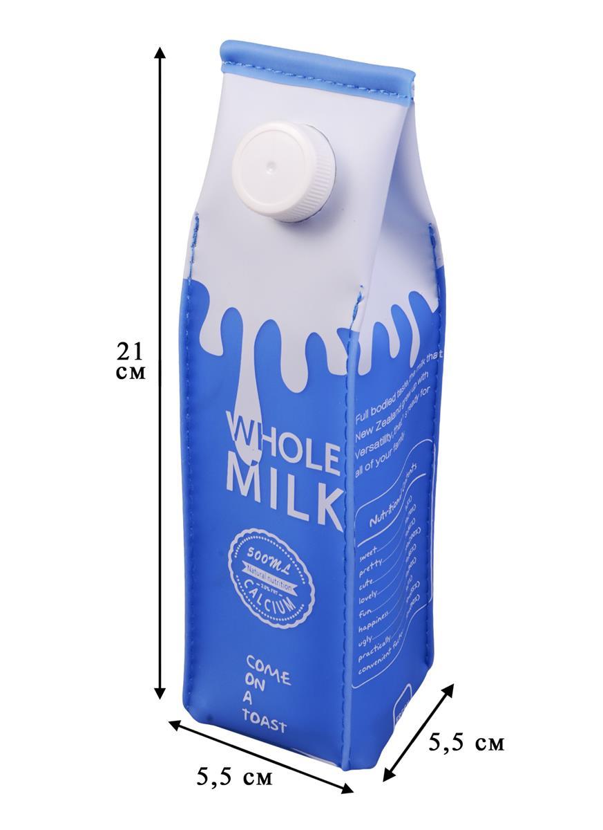 """Пенал на молнии """"Пакет молока"""""""