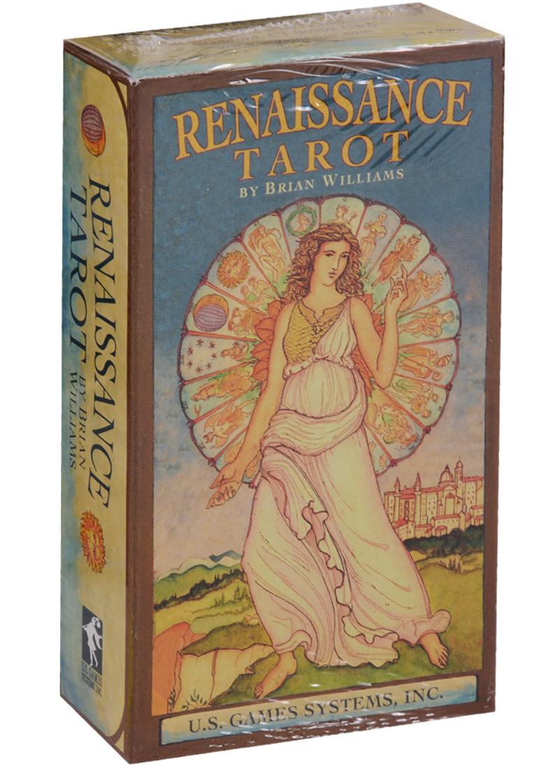Renaissance Tarot by Brian Williams / Ренесенса таро (карты + инструкция на английском языке) магические послания богинь 44 карты инструкция