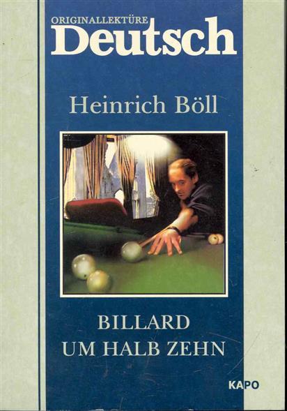 Billard um halb zehn / Бильард в половине десятого