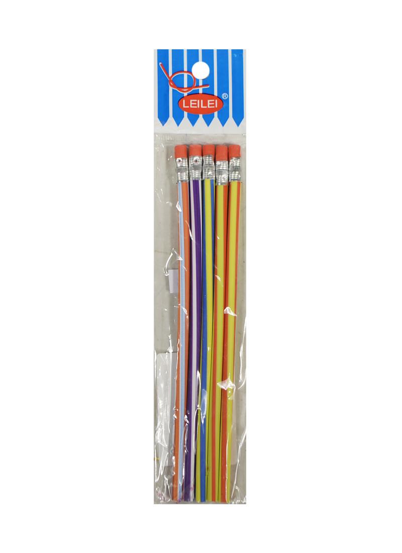 Набор карандашей гибких 18 см (5 шт.) (002904) (Карамба)