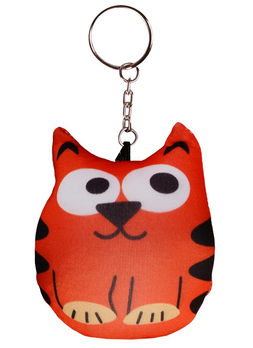 Брелок-антистресс Котик рыжий (8 см)