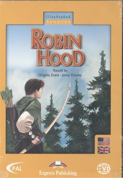 Evans V., Dooley J. Robin Hood (DVD-диск) bloese j robin hood the taxman starter level сd