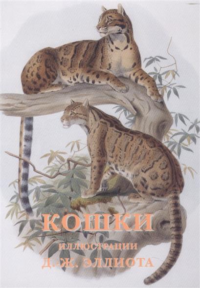 Эллиот Д.-Ж. (худ.) Кошки (набор открыток) куплю ж д цистерну гсм
