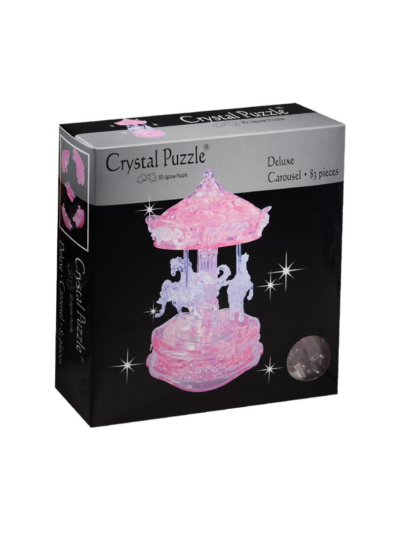 3D головоломка Карусель розовая (91209)