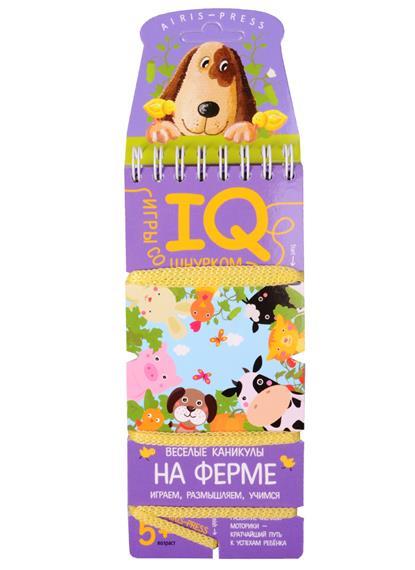 IQ-игры со шнурком. Веселые каникулы на ферме ид питер паучок яна каникулы на ферме