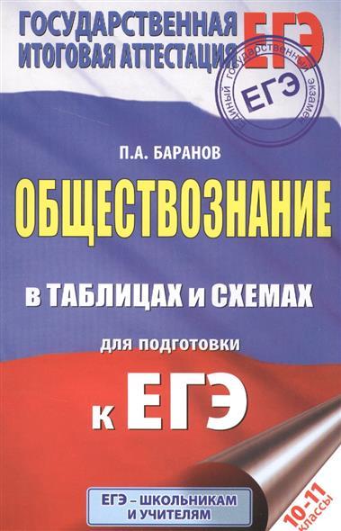 Обществознание в таблицах и схемах для подготовки к ЕГЭ. 10-11 классы
