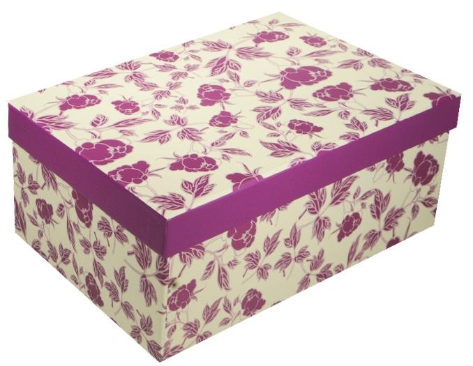"""Коробка подарочная """"Розочки"""" 23*16.5*9.5см"""