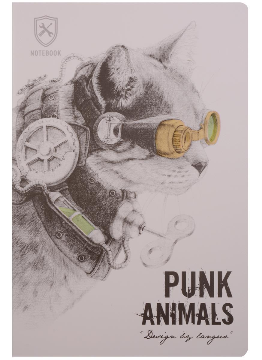 "Тетрадь ""Punk animals"""
