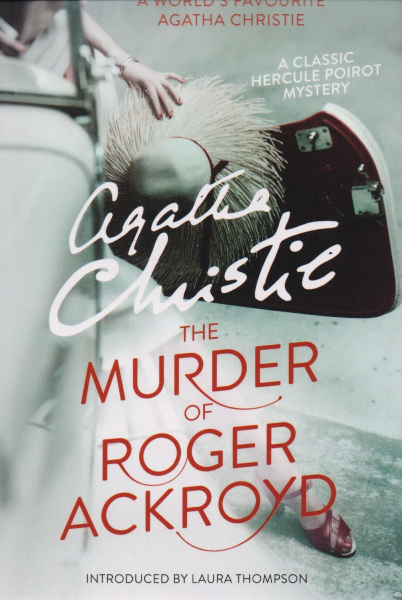 Christie A. The Murder of Roger Ackroyd the murder wall