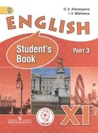 Английский язык. 11 класс. В 3-х частях. Часть 3. Учебник для общеобразовательных организаций. Углубленный уровень. Учебник для детей с нарушением зрения