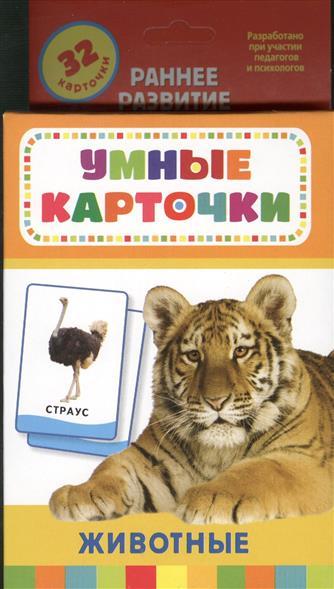 Животные. Развивающие карточки