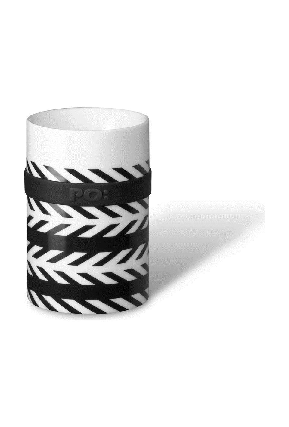 """Малая термо кружка серии """"Ring"""" Иллюзион 2 черно-белая (654) (Файн Дизайн)"""