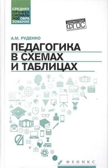 купить Руденко А. Педагогика в схемах и таблицах. Учебное пособие по цене 191 рублей