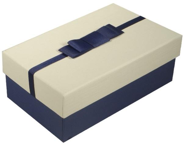 "Коробка подарочная ""White&Blue"", 17*11*6,3см"