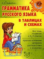 Грамматика рус. языка в таблицах и схемах