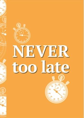"Блокнот ""Never too Late"""