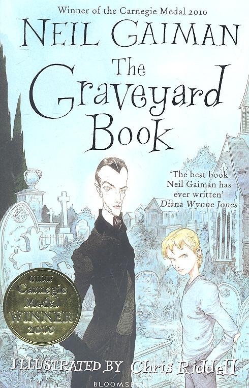 Gaiman N. The Graveyard Book t art блузка