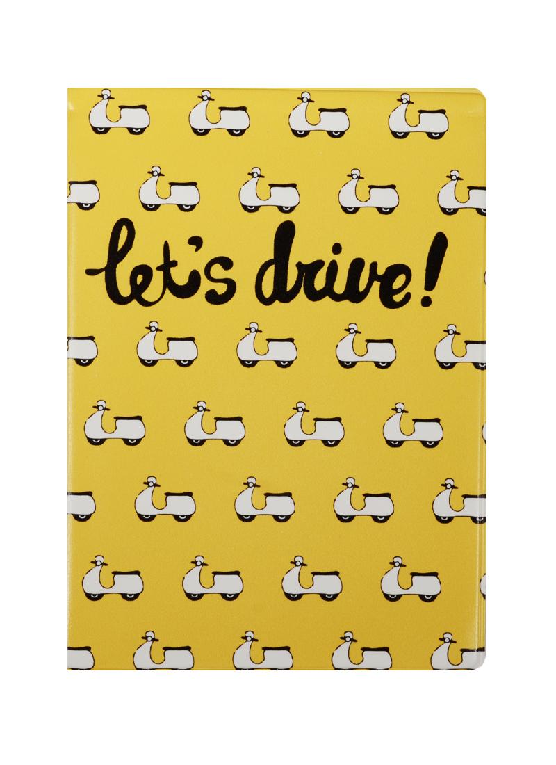 Обложка на автодокументы Lets Drive (KW063-000063)