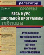 Таблицы и схемы Весь курс шк. программы