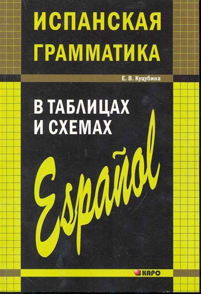 Испанская грамматика в таблицах и схемах
