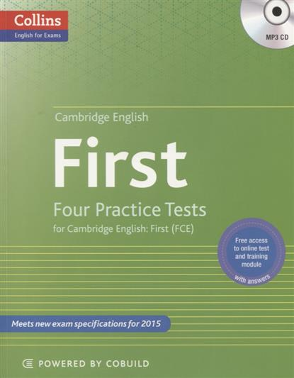 First. Four Practice Tests for Cambridge English. First (FCE) (+MP3) evans v obee b fce for schools practice tests 2 student s book