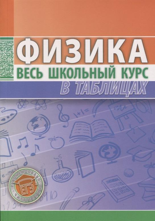 Фото - Тульев В. (сост.) Физика. Весь школьный курс в таблицах информатика весь школьный курс в таблицах