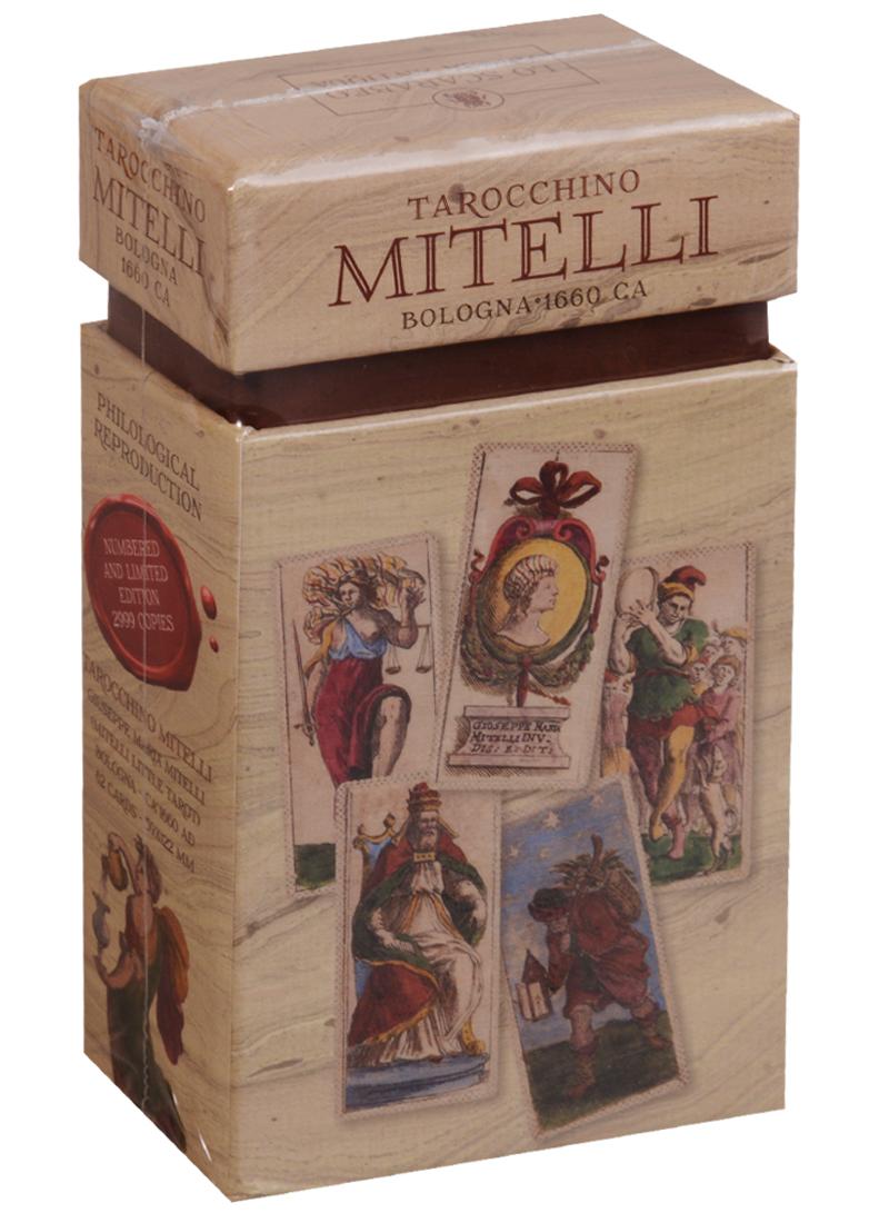 Таро Мителли Болонья 1660 год