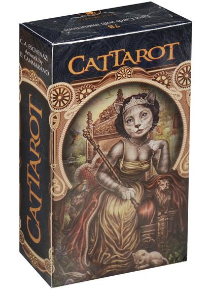 Eschenazi C. Cattarot. Tarot Cards with instuctions after tarot 78 tarot cards with instructions page 1