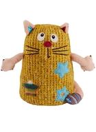Мягкая игрушка Кот Котейка желтый (15 см)