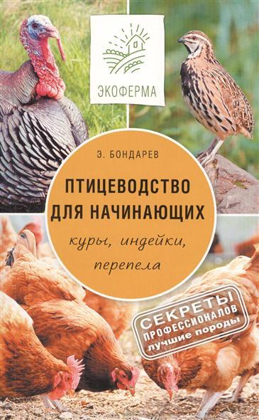 Бондарев Э. Птицеводство для начинающих. Куры, индейки, перепела цены онлайн