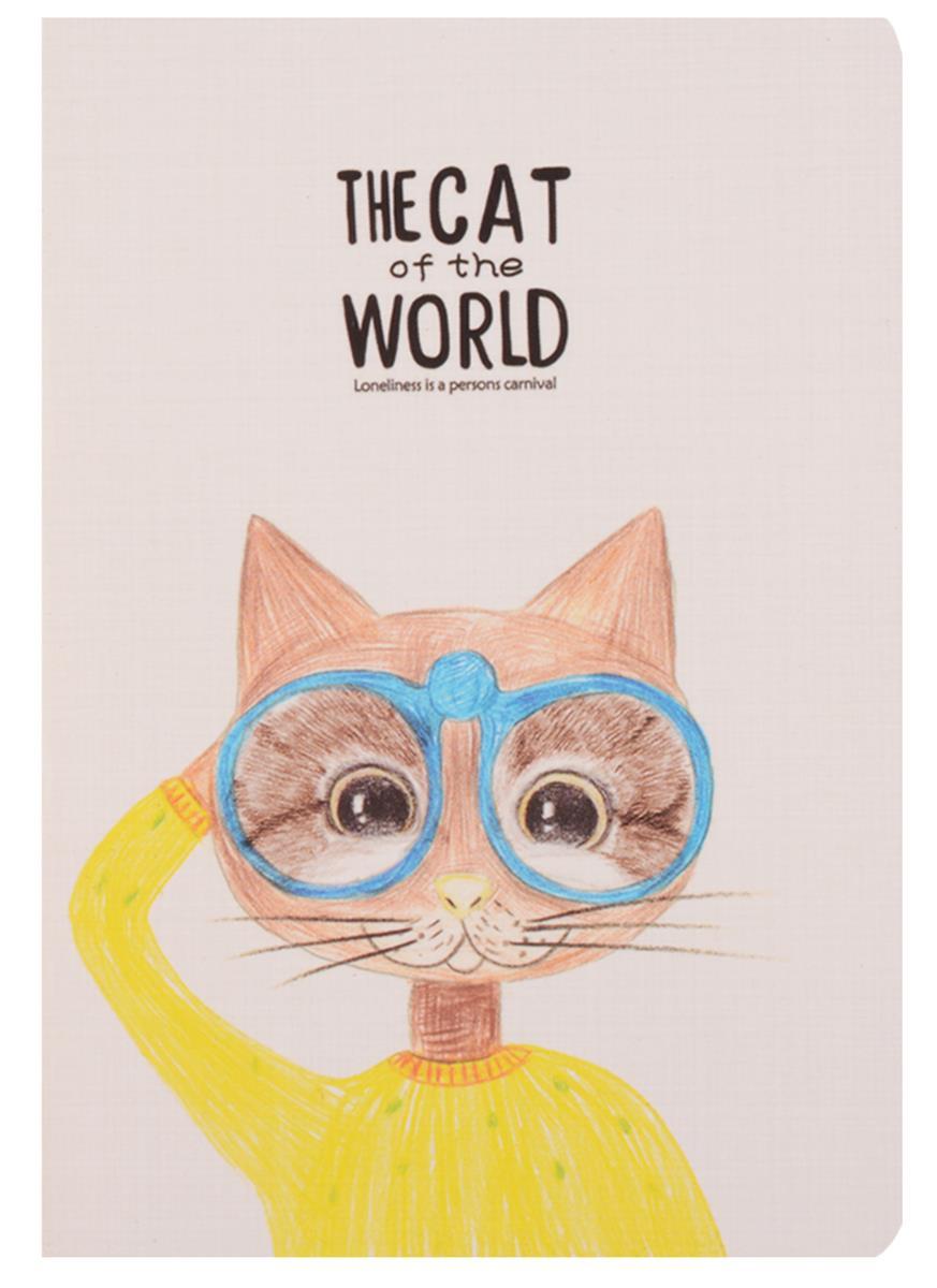 """Записная книжка """"The cat of the world"""""""
