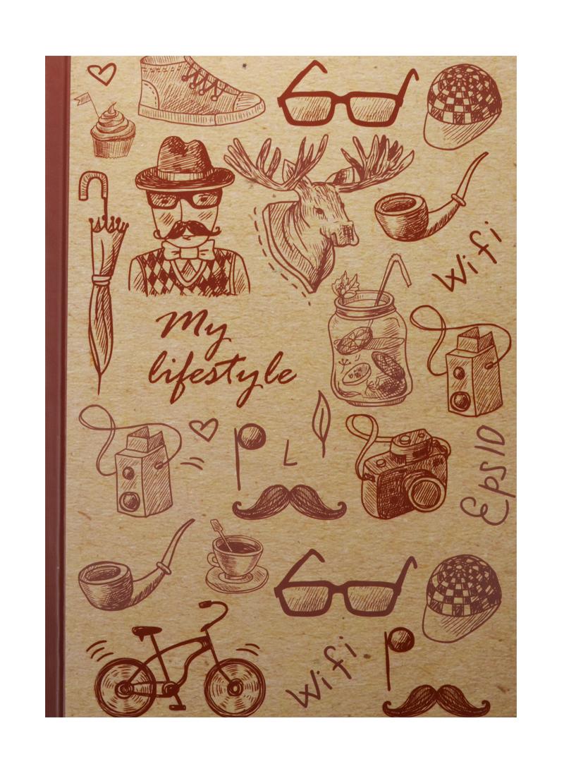 Блокнот My lifestyle (крафт)