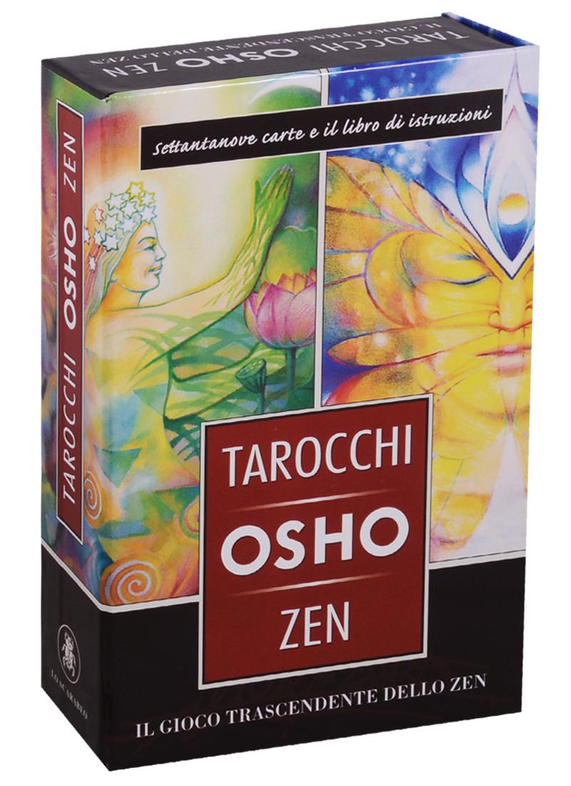 Osho Tarocchi Zen. 79 карт + инструкция tarot of reincarnation 79 карт isbn 9788883956645