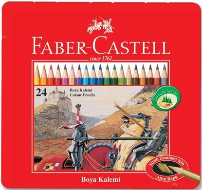 """Карандаши цветные """"Рыцарь"""", 24 цв., Faber-Castell"""