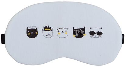 Маска для сна Мордочки котов (пакет)