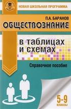 Обществознание в таблицах и схемах. 5-9 классы