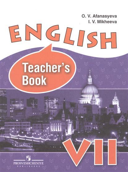 English. Teacher's Book VII