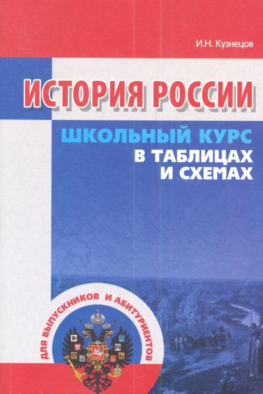 Кузнецов И. История России в таблицах и схемах ISBN: 9789855494639