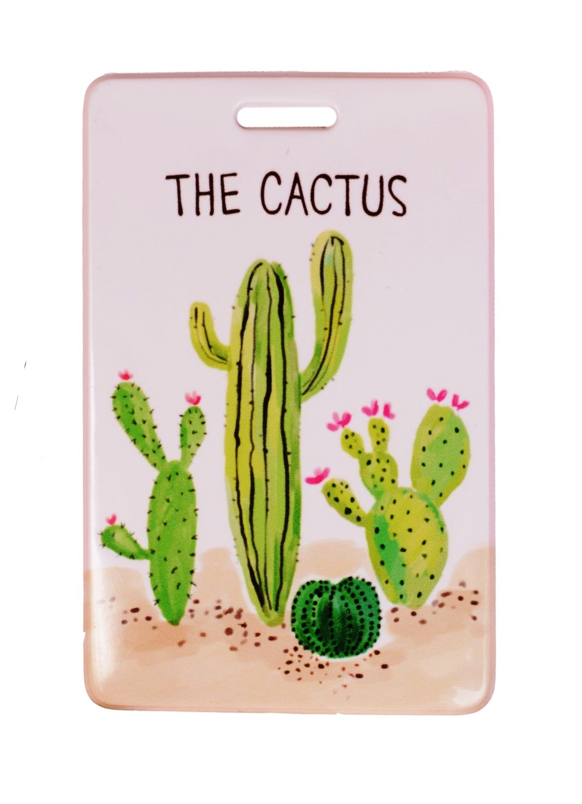 Чехол для карточек Кактусы
