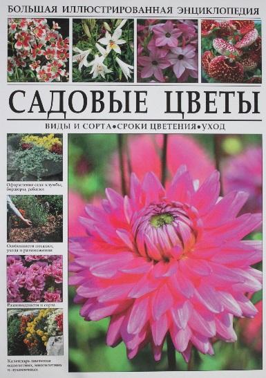 Садовые цветы. Виды и сорта. Сроки цветения. Уход. Большая иллюстрированная энциклопедия