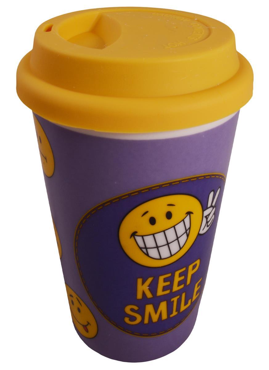 Стакан керамический Keep smile