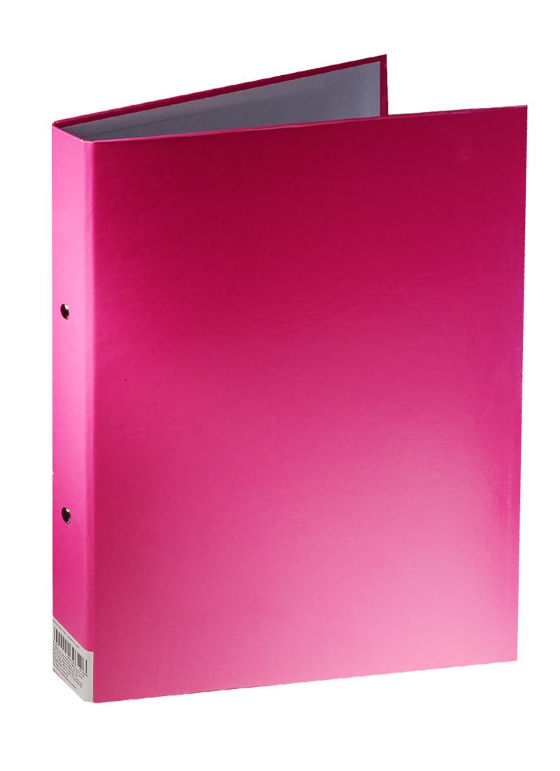 """Папка на кольцах А4 """"Неон"""", розовая"""
