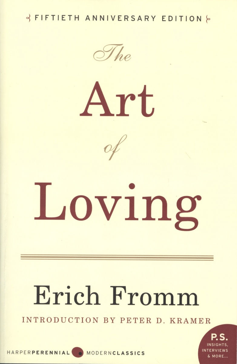 Fromm E. The Art of Loving made for loving шарф