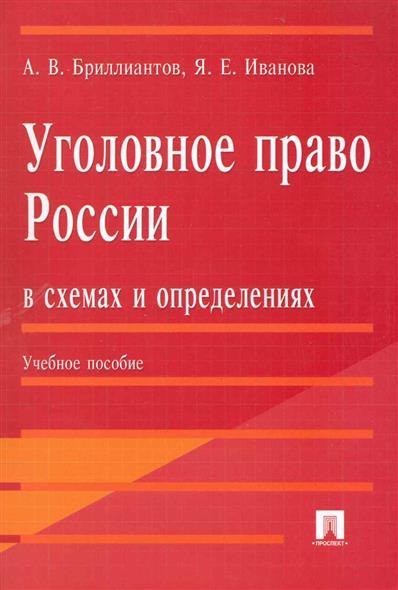 Уголовное право России в схемах и определениях