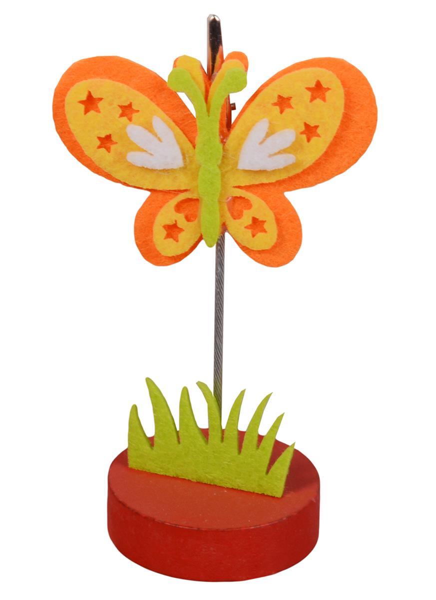 Держатель для визиток Бабочка со звездочками (фетр)