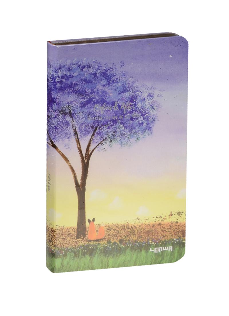 Блокнот Н5 Дерево и лис (золотой обрез) (192стр)