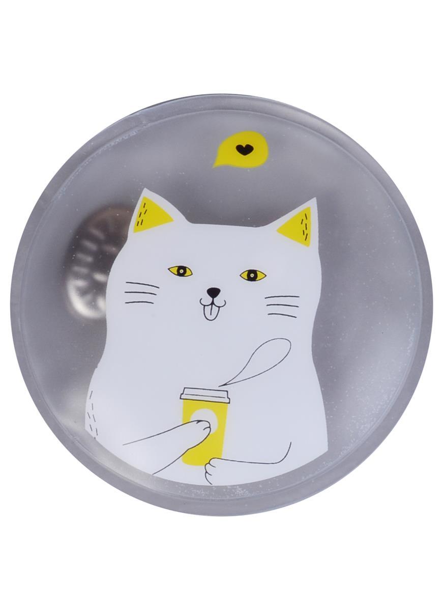 """Грелка для рук """"Коты"""", 8 см"""