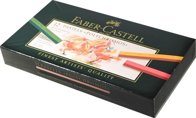 """Пастель """"Polychromos"""", 12 цв., Faber-Castell"""